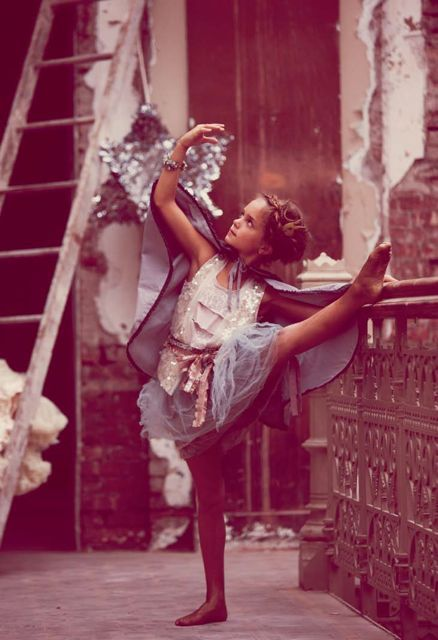 *Fleur made both her daughters take ballet lesson. Dom went in kicking and screaming and only rebelled while there