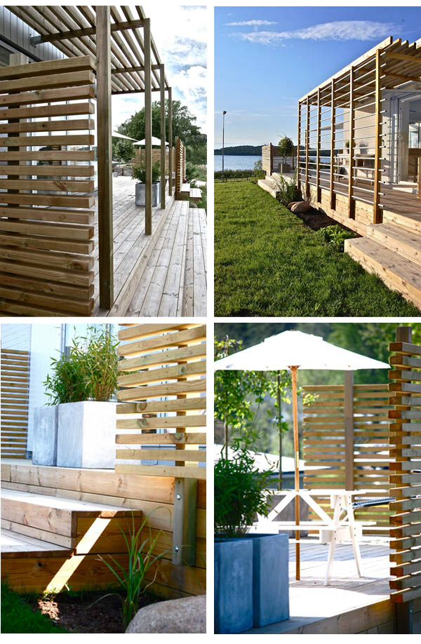23 best images about Staket ribbor on Pinterest  Decking, Terrace and ...