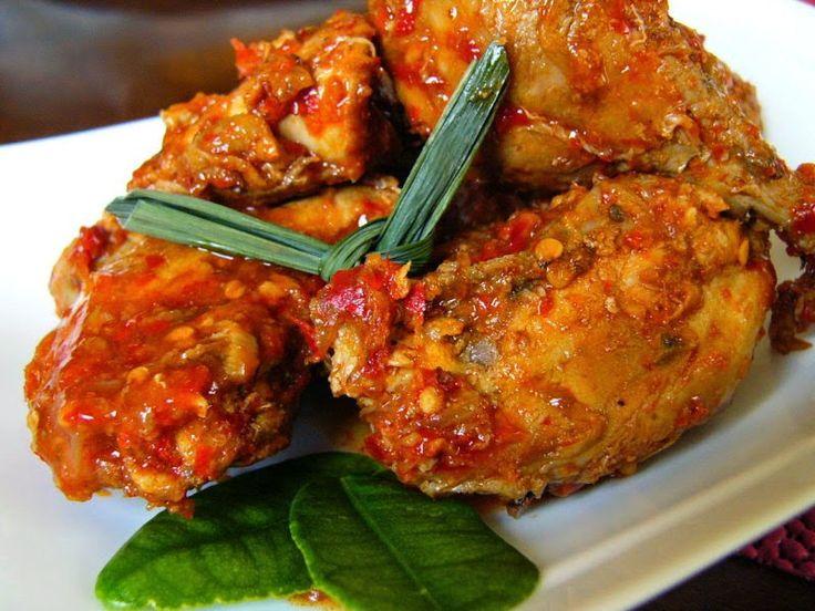 Resep Ayam Goreng Rica - Rica Pedas Enak dan Spesial Untuk Keluarga