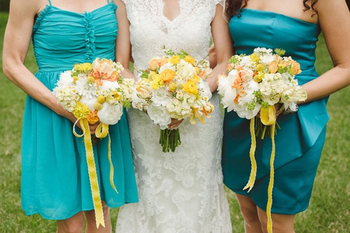 34 best images about teal and yellow wedding colors on for Wedding dress shops twin cities