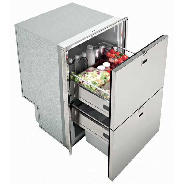 Isotherm Double Drawer 160 Freezer Refrigerator Freezer Isotherms Stainless Steel Refrigerator