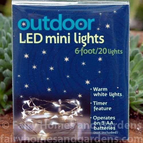 Miniature LED Fairy Lights – GARDEN