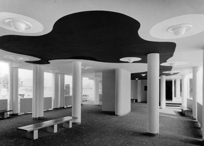 Alvar Aalto Architecture - Hansaviertel's apartment house, Berlin, Germany