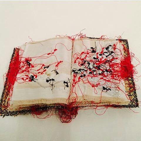Maria Lai - livre des fourmis