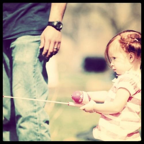50 Rules for Dads of Daughters (warning: may make you tear up) so cute. So sweet :)