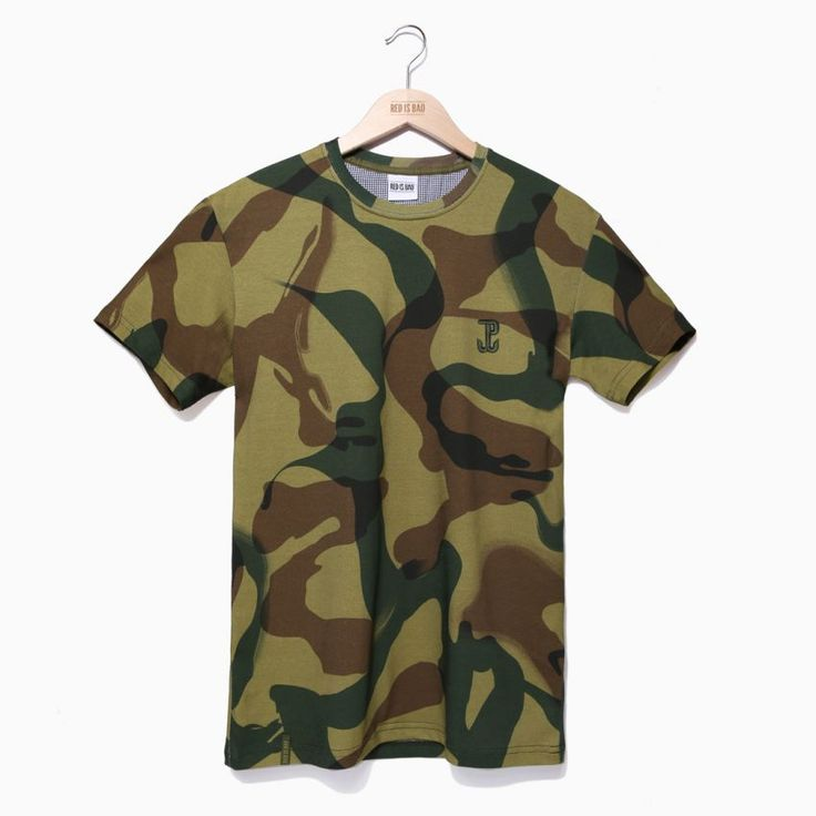 Koszulka patriotyczna Camo Sosabowski Kotwica - odzież patriotyczna, koszulki męskie Red is Bad