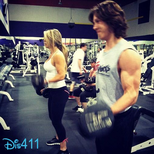 Leo Howard Muscles 2013 Photo: leo howard working out