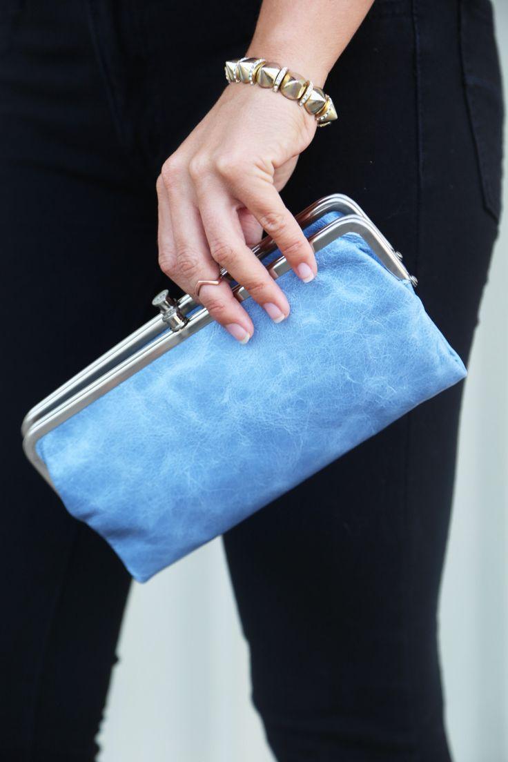 Glacier Hobo Wallet