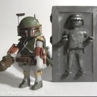 Playmobil Boba Fett... in the words of my husband 'nerdgasm'!