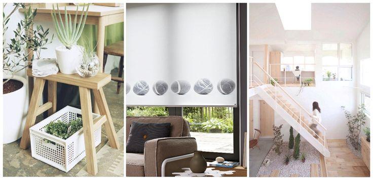Muji meets IDEE, Luxaflex® Rolgordijnen, Japans interieur via Aestate Studio