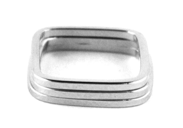Rigby Ring Set of Three - Solid - More Colors - As seen on Actress Taylor Cole! - Nissa Jewelry