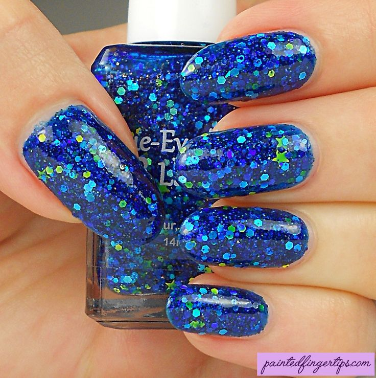 Painted Fingertips | Swatch - Blue-Eyed Girl Lacquer Morning Star