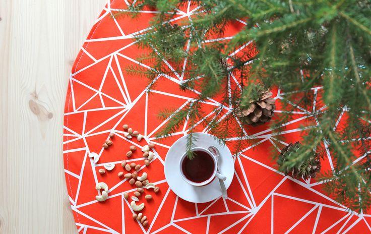 Muovo Christmas tree mat