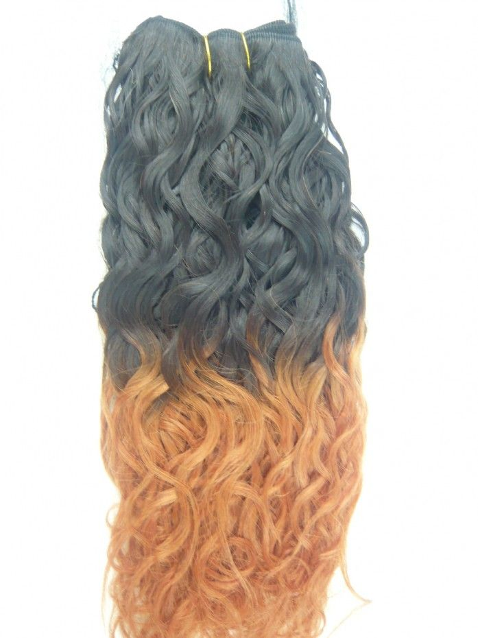 Wholesale Ombre Color:100% virgin brazilian hair