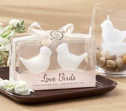 Love Birds Tea Light Candles - Candle Favors by Kate Aspen