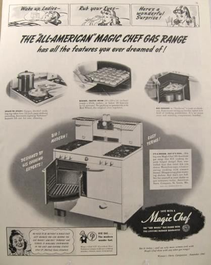 1000 images about vintage magic chef on pinterest