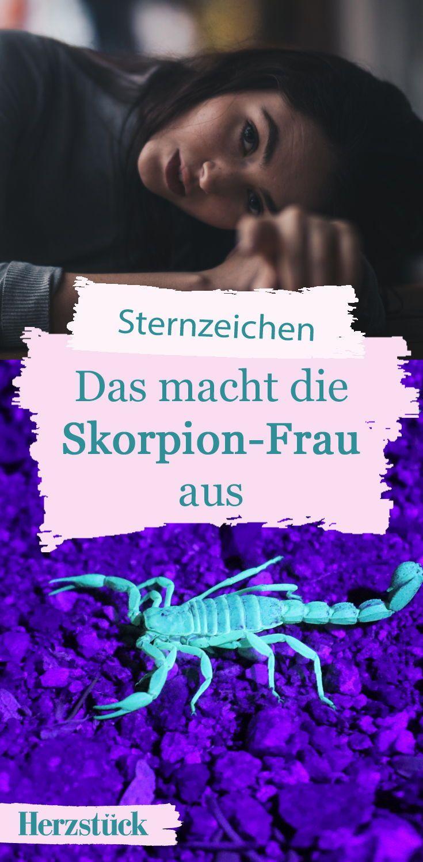 skorpionfrau sternzeichen