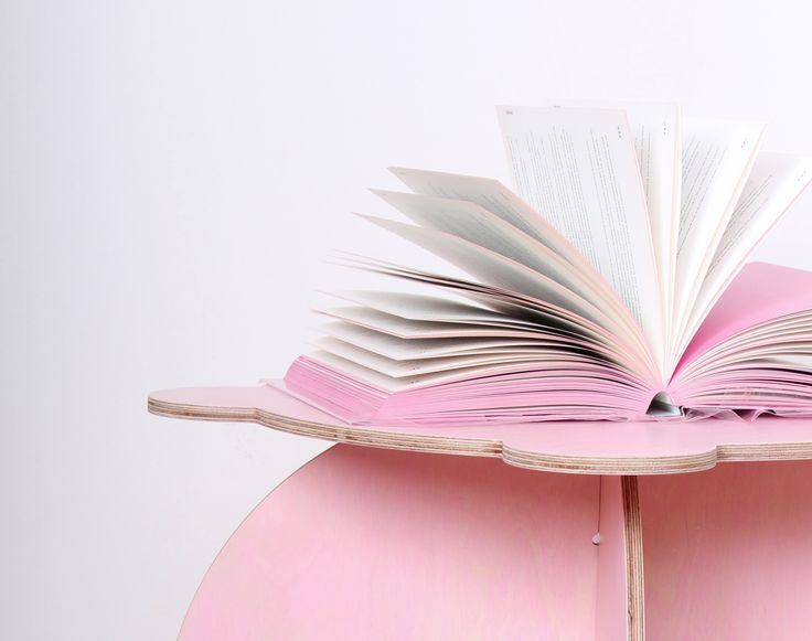 Sweet Pinkey table inspired by book Slečny - Misses made by fashion designer Anna Marešová V