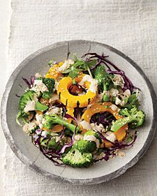Detox Cred: With its special trio of phytonutrients (health-promoting organic compounds), broccoli helps promote and regulate the elimination of toxins from our cells. Steaming the cruciferous vegetable may be the best preparation technique -- research shows it helps lower your cholesterol even more than raw.