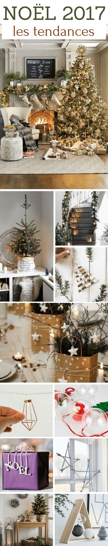 Noël 2017 : Les Tendances (idées déco, table, sapin, couleurs,...)  http://www.homelisty.com/noel-2017-tendances/