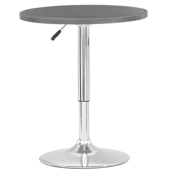 Wonderful CorLiving Adjustable Height Round Bar Table