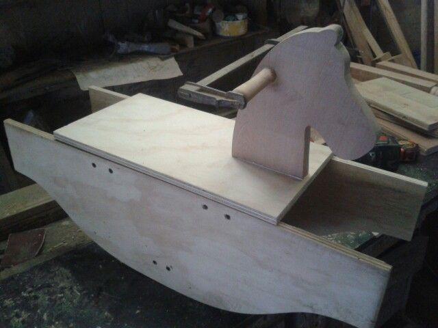 Caballito madera