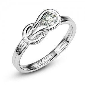 Platinum rings for women