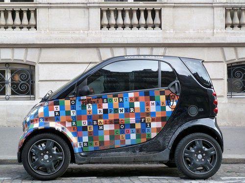 Paris Smart urban car concept design J C de Castelbajac