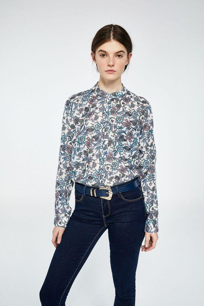 Camisas Y Blusas Casual Sfera Moda Camisas Blusas