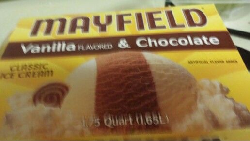 """Mayfield Ice Cream"" ""Awesome product made in TN!!"