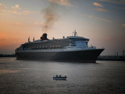 The queen mary ,if you want to do it in style