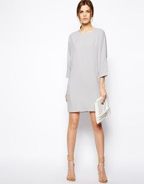 ASOS Shift Dress With Pockets - you can glam it up with a necklace and sparkly shoes ;)