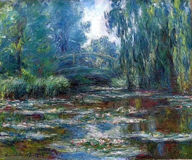 Claude Monet - Waterlily Pond