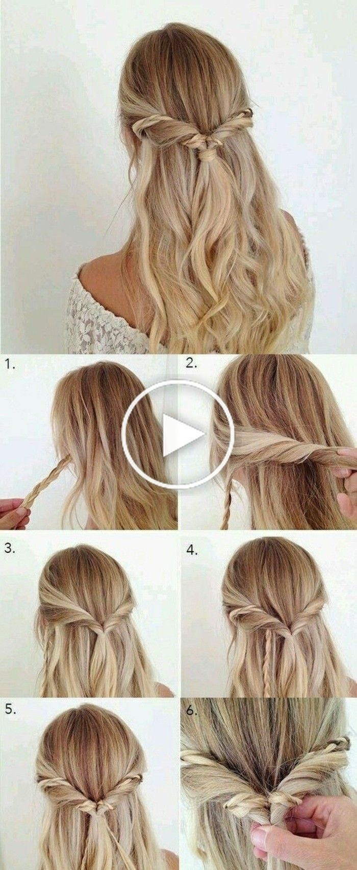 1001 Ideas For Beautiful Hairstyles Diy Instructions Prom Hairstyles For Short Hair Medium Length Hair Styles Hair Styles