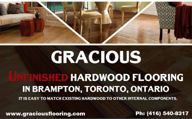 If you are looking #Best and #stylish #Unfinished #Hardwood #Flooring in #Brampton, #Toronto, #Ontario. DO not think more call: (905) 458-8000