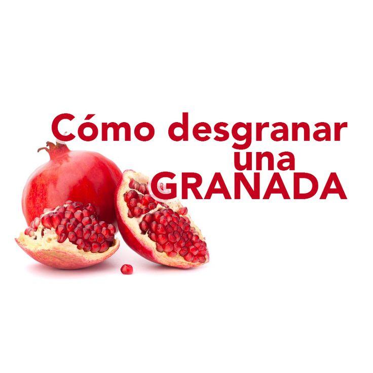 Aquí te contamos como sacar los granos de granada de una forma fácil y sin complicaciones para aprovechar al máximo este fruto tan saludable y especial.