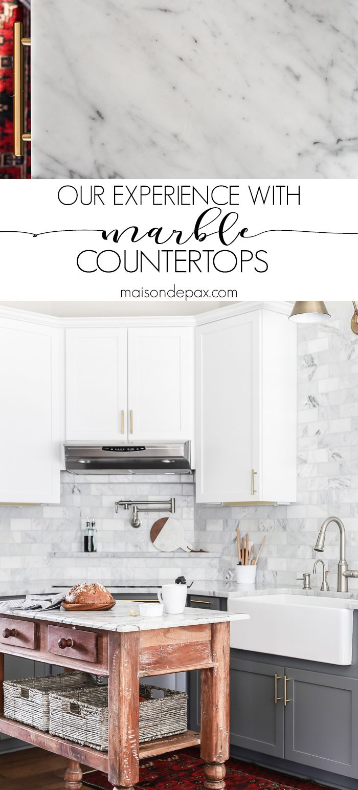 A Detailed Experience From Family With Marble Kitchen Countertops Should I Use In The It S One Of Most Common Questions For Today