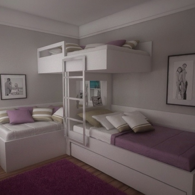 25 Best Ideas About Triplets Bedroom On Pinterest 3