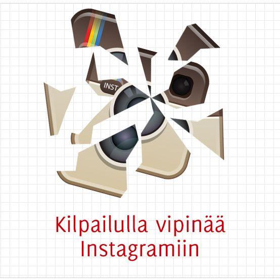 Kilpailulla vipinää Instagramiin
