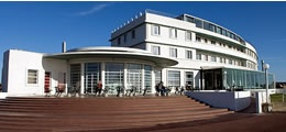 The Midland Hotel Morecambe, Art Deco Gem and regular haunt.