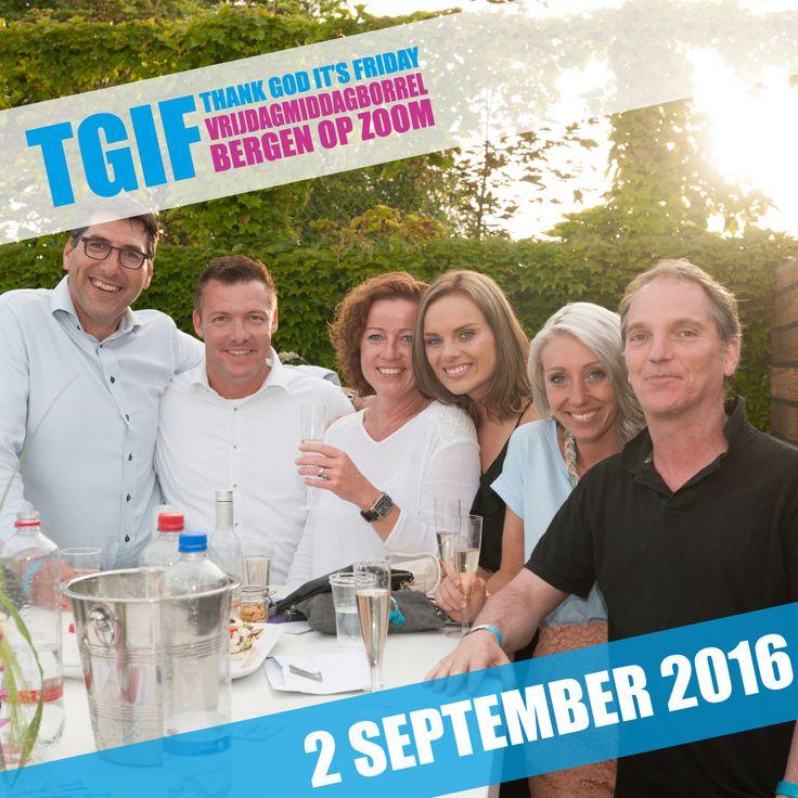 TGIF Edition IV vindt plaats op vrijdag 2 september 2016! Save the date!!