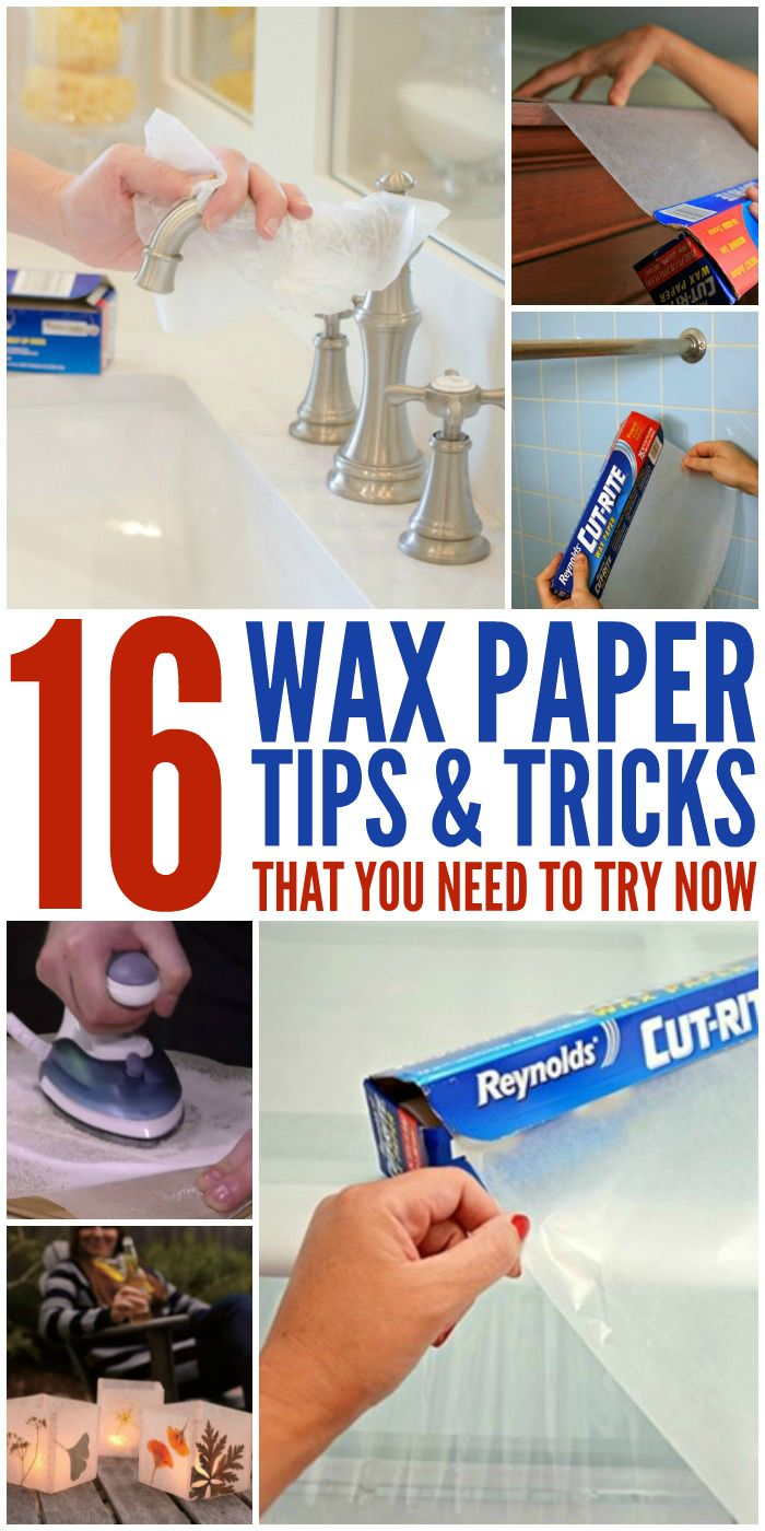 16 Genius Wax Paper Tips and Tricks