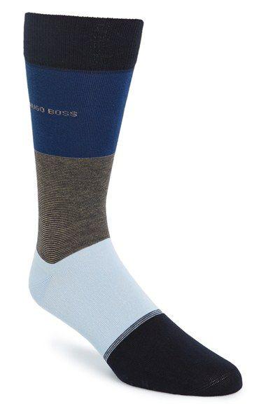 BOSS+HUGO+BOSS+Stripe+Socks+available+at+#Nordstrom