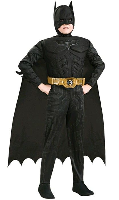 Dress up as Batman at your next superhero costume party!!  #batman #batman costume #boys batman costume #costume #dressup  Buy this boys Batman costume on our webiste  http://www.heavencostumes.com.au/muscle-chest-boys-batman-costume.html