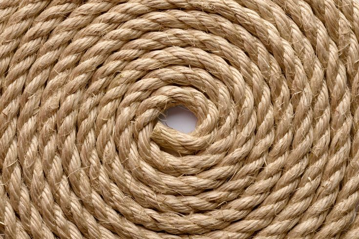 Decking Rope Garden Rope Natural Buff Sisal Rope 24MM Dia X 20M