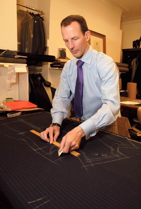Bespoke!  Why is it when a man does this he is a tailor, a professional, but when a woman does it she's a dressmaker, a home sewer?