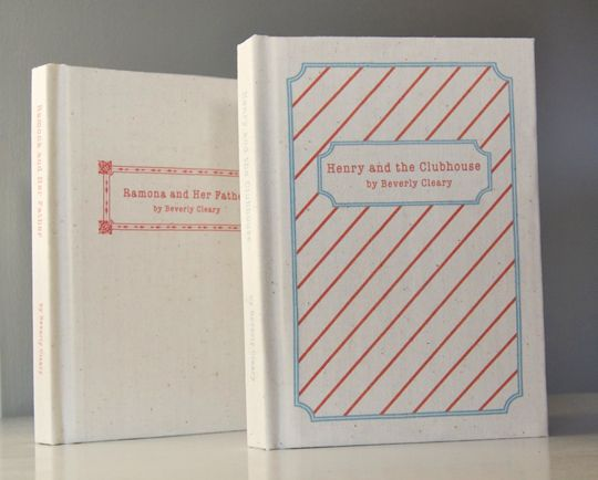 Bookbinding 101: In this time of e-books, how nice to find a DIY for turning favorite paperbacks into custom hardbacks.