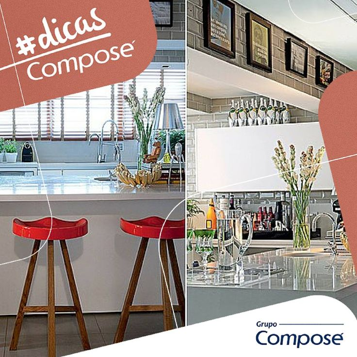 Detalhes fazem toda a diferença, certo? Nossa #DicaCompose de hoje trás 8 dicas para modificar na sua cozinha! Confira: http://bit.ly/detalhesnacozinha  #DicasCompose #ComposeRevestimento #decor