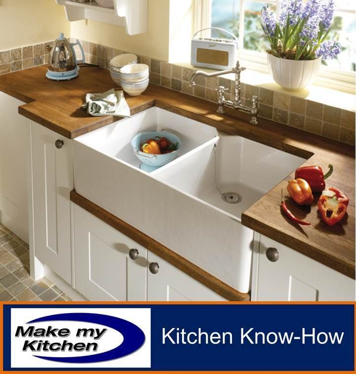 Hafele 90cm Double Bowl Ceramic Belfast Sink 900mm Inc CH Waste Kit in Home, Furniture & DIY, Kitchen Plumbing & Fittings, Kitchen Sinks without Taps | eBay