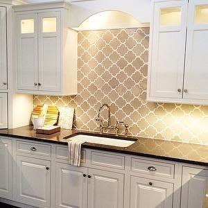 gray-arabesque-tile - Design, decor, photos, pictures, ideas, inspiration, paint colors and remodel